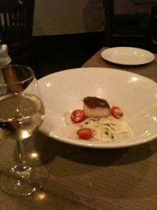 Pan Seared Scallop with Fennel, Mission Table